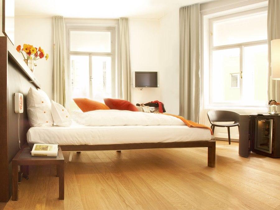 Die Zimmer in der Hollmann Beletage laden ein sich wie zu Hause zu fühlen.