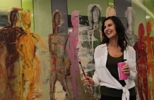 Asma Kocjan erzählt von ihrem Künstlerleben.