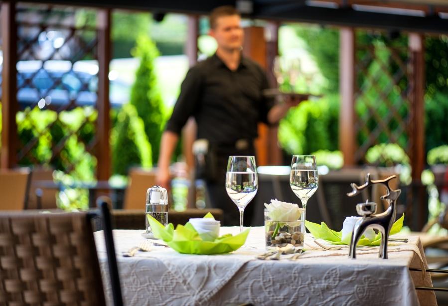 Im Restaurant wird auch auf Lebensmittelunverträglichkeiten Rücksicht genommen.