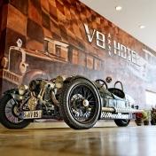 V8 HOTEL - MOTORWORLD Region Stuttgart auf dem Flugfeld Boeblingen.