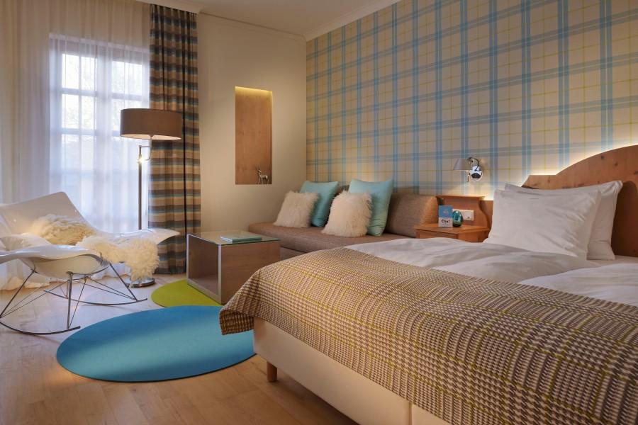 Im Berghotel Maibrunn verbindet sich bayerische Tradition mit modernem Design.