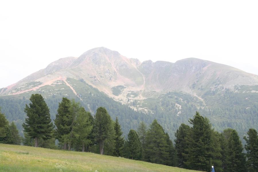 Der Eggerhof in Aldein liegt mitten in den Bergen Südtirols auf 1200 Metern.