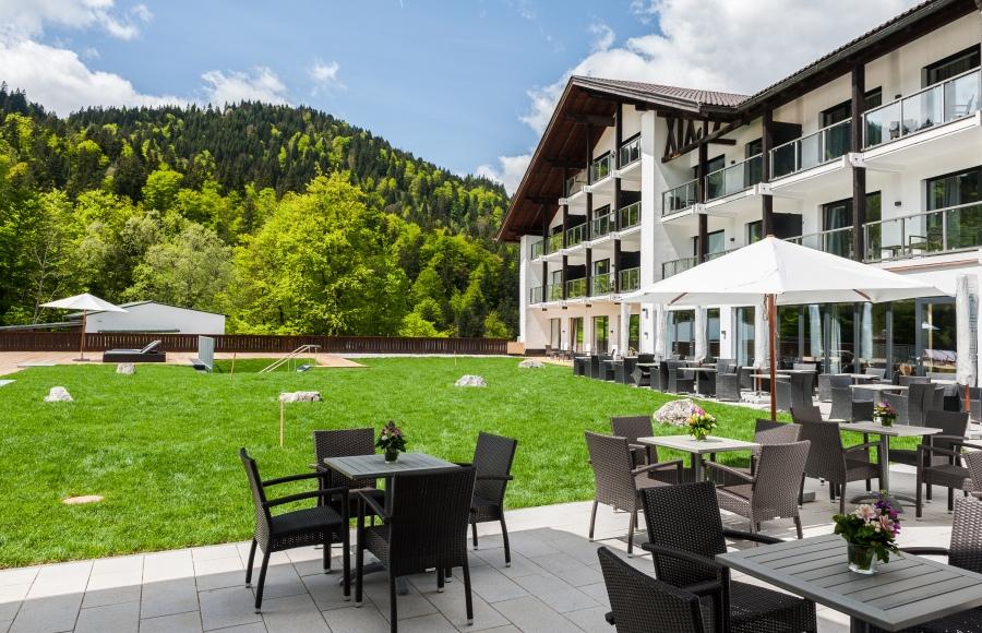 Das Hotel wurde komplett renoviert und umgebaut.