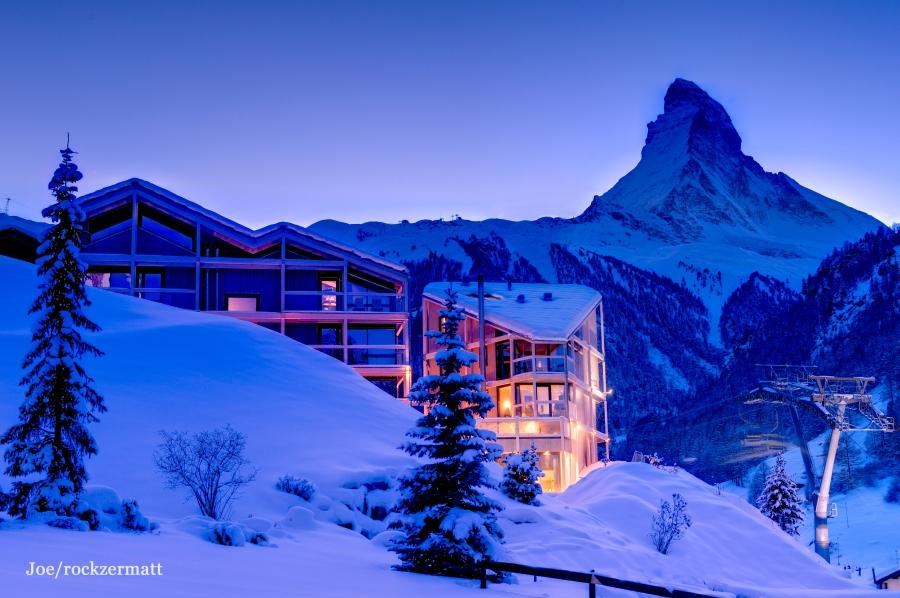 Wie der Name des Hotels schon verrät, lenkt man den Fokus im Hotel auf das Matterhorn.
