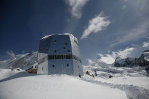 Neue Monte Rosa Hütte Foto: ©Hwking