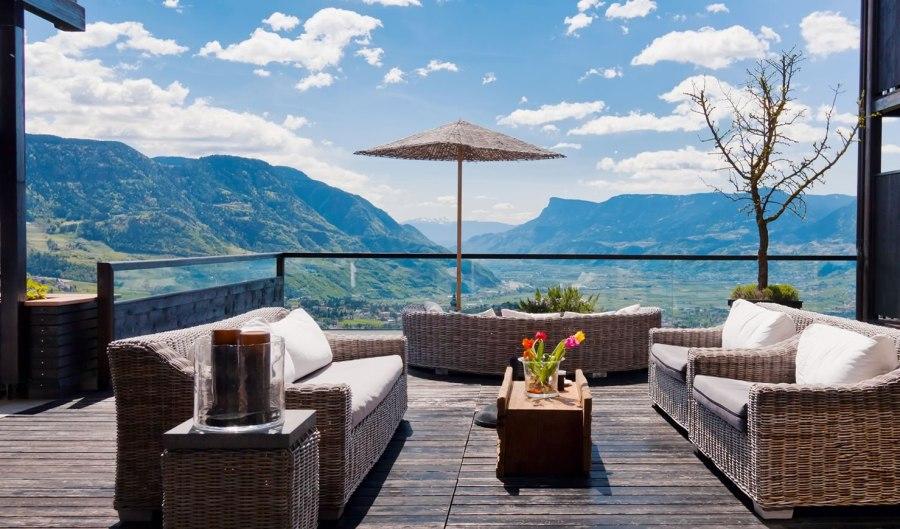 Ein atemberaubender Blick auf die Südtiroler Natur.