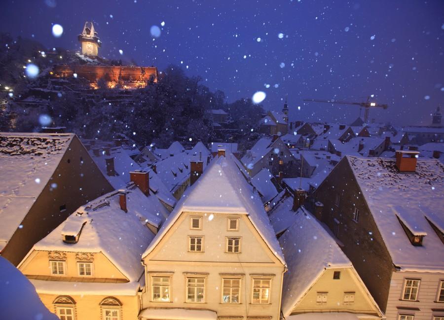 Die Weihnachtszeit in der Murmetropole muss man als Globetrotter erlebt haben. © Graz Tourismus