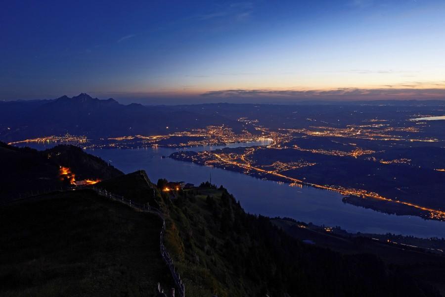 Die Rigi wird auch oft Königin der Berge genannt. Foto: © RIGI BAHNEN AG