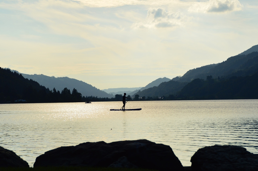 Stand Up Paddling Achensee Tirol kl