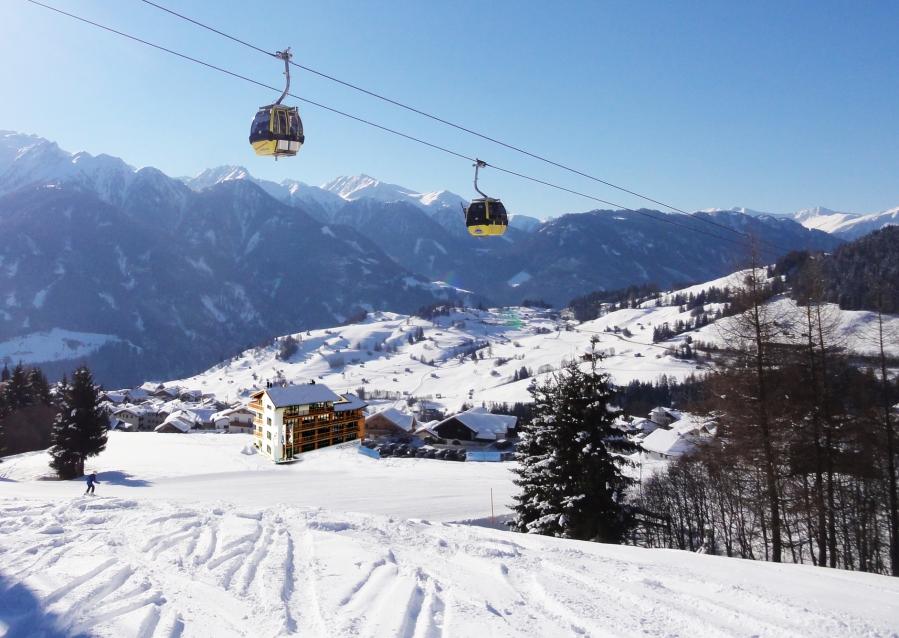 Die Alpslodge liegt im Herzen des Skigebiets Serfaus-Fiss-Ladis.