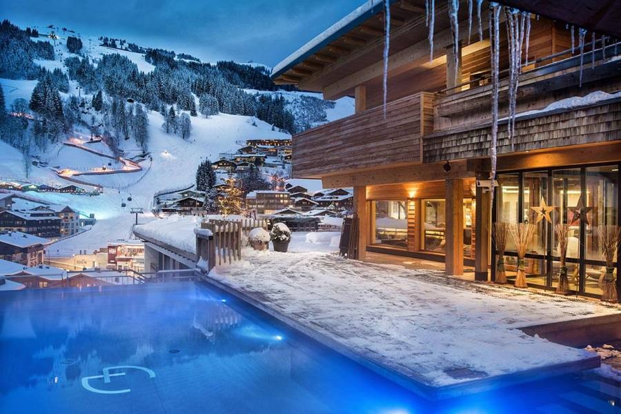Skifahren Saalbach Hinterglemm Leogang Fieberbrunn Alpin Juwel