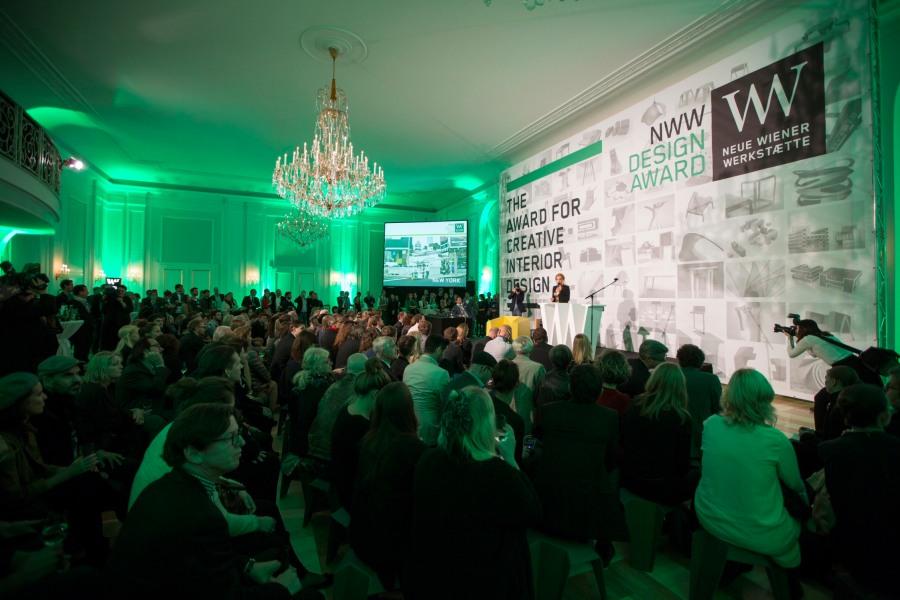 Die Design Award Verleihung 2014.