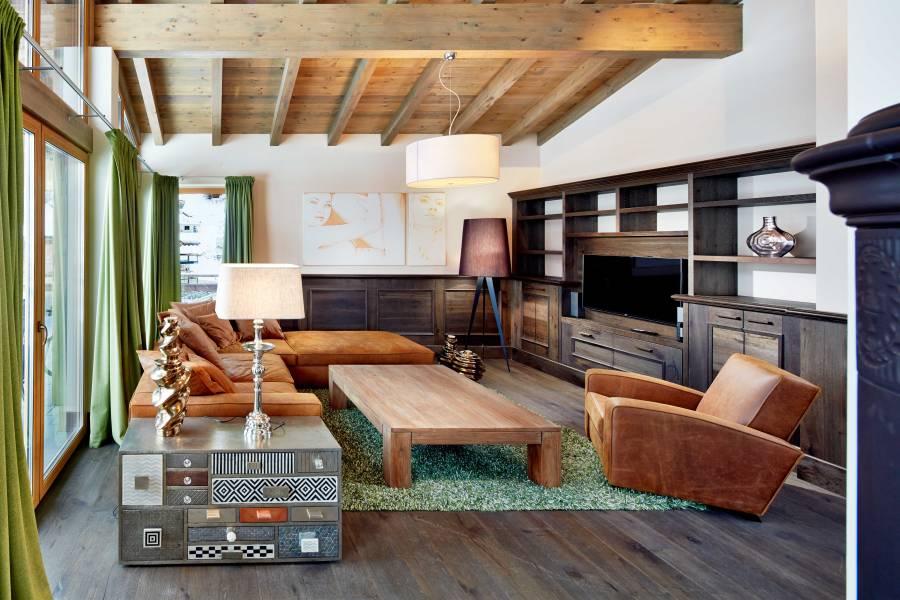 Alle Appartements sind mit hochwertigen Designermöbeln ausgestattet.