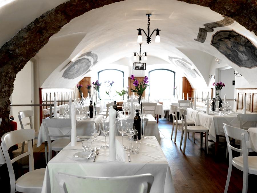 Arthotel Blaue Gans Restaurant