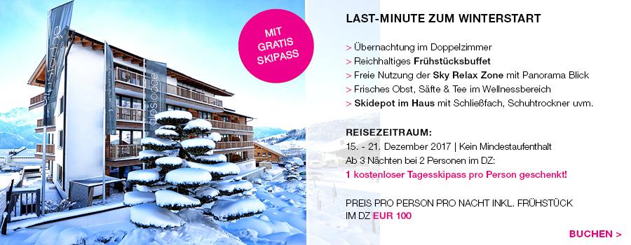Last Minute Special Alpslodge